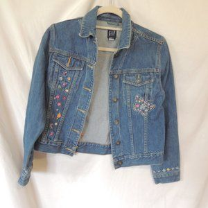 Gap Kids jean jacket size X Large